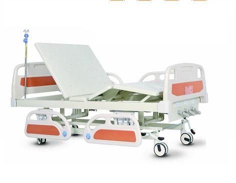 Giường bệnh 3 tay quay cao cấp Maidesite ABS (Nâng hạ giường)